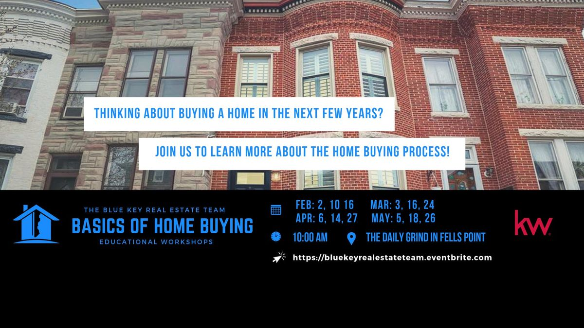 Home Buying 101 Workshop (May 26 2019)