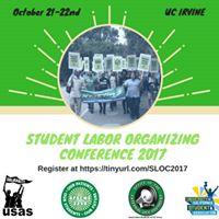 Student Labor Organizing Conference (SLOC) 2017