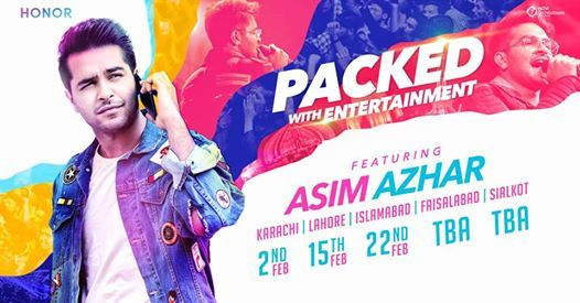 Honor - Packed With Entertainment ft. Asim Azhar (Faisalabad)