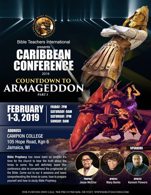 Caribbean Conference 2019 - Countdown To Armageddon
