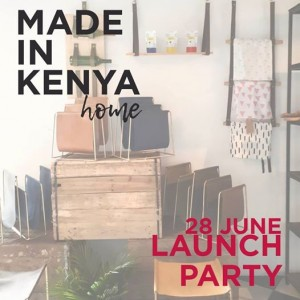 Launch party for Made in Kenya HOME