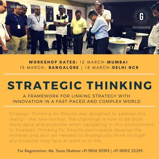 Strategic Thinking To Overcome Barriers