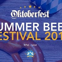 Summer Beer Festival  Saturday 29th July  Free Entry