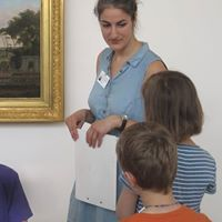 Kinder sprechen ber Kunst