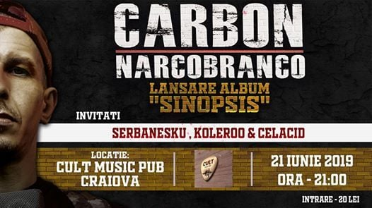 Carbon - Lansare album Sinopsis - Craiova