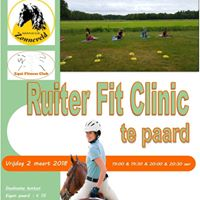 Ruiter Fit Clinic te paard