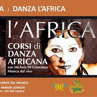 Danza LAfrica  Katzuma dj set al Mercatino Verde Del Mondo