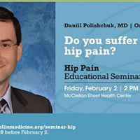 Keeping Bodies in Motion A Free Hip Pain Educational Seminar