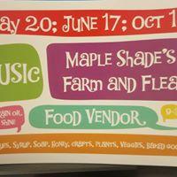 Maple Shades Farm and Flea - May 20