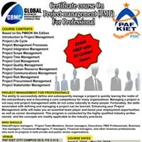 Certificate Course on Project management