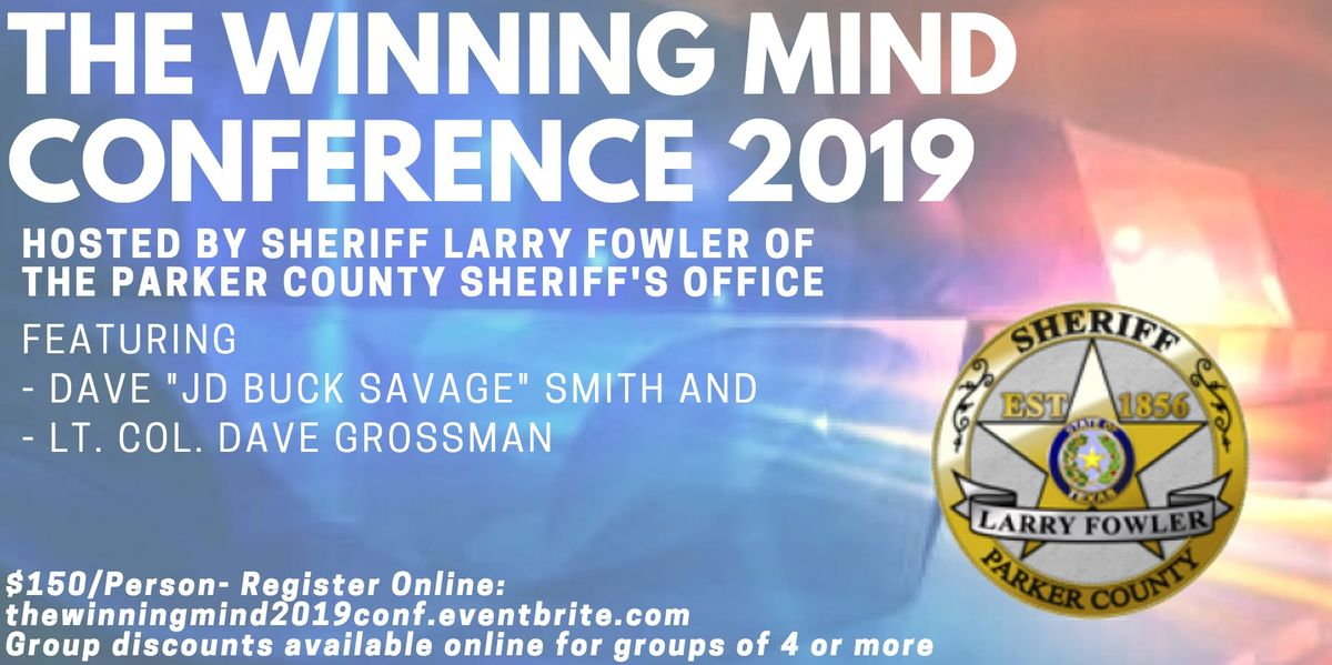 The Winning Mind Conference 2019 at North Side Baptist