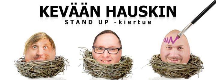 suomen stand up kiertue