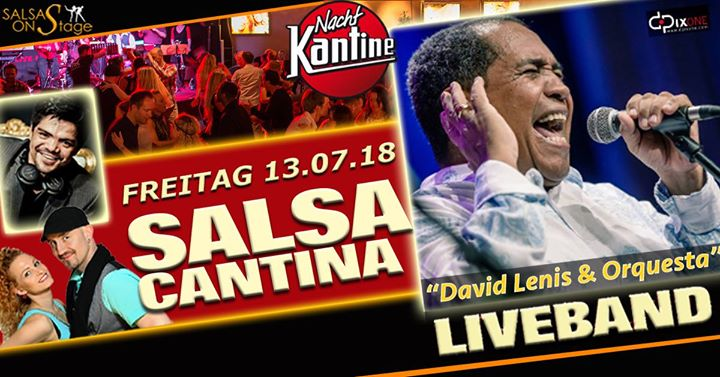 Salsa Cantina Party mit Liveband David Lenis & Orquesta