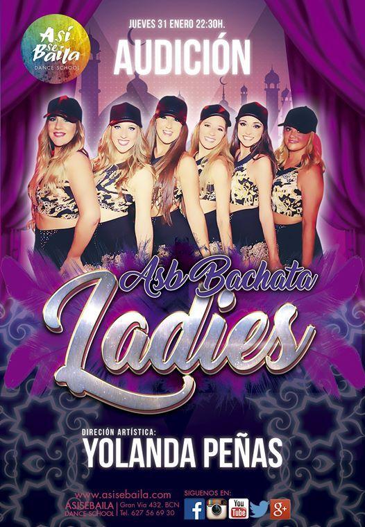 Jueves 31 de Enero Audicin ASB bachata ladies