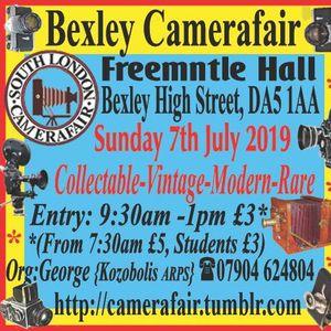 South London Camera Fair (Bexley) at Freemantle Hall, Bexley Village