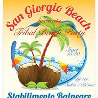 San Giorgio Beach presents  Tribal Beach Party