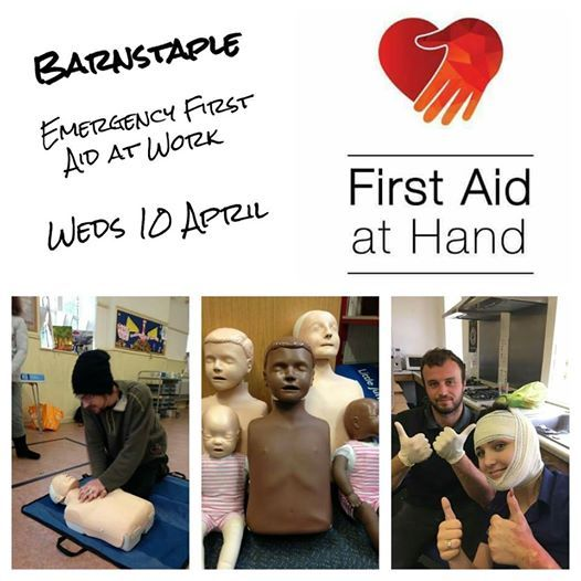 Emergency First Aid at Work (EFAW) course Barnstaple