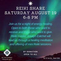 Reiki Share with Jesalyn