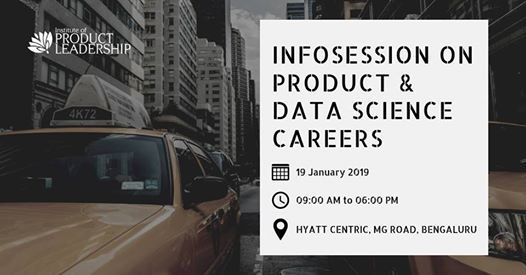 Infosession on Products and Data Science Careers