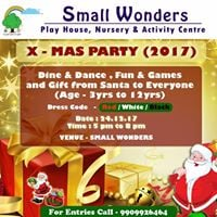 SMALL WONDERS X- MAS PARTY