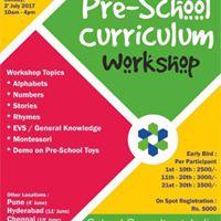 Pre-School Curriculum Workshop  Mumbai