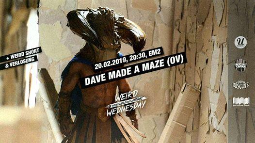 Dave Made A Maze  Weird Short  Weird Wednesday 49