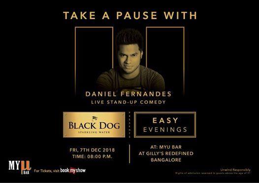 Black Dog Easy Evenings w Daniel Fernandes  DJ set by Bhabani