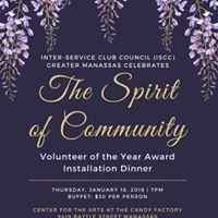 ISCC Volunteer of the Year Installation Dinner 2018