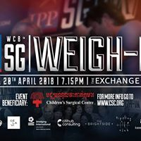 IPP White Collar Boxing Singapore May 2018 Weigh-In