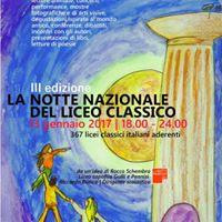 Liceo Spedalieri 3 Edizione Notte Nazionale del Liceo Classico