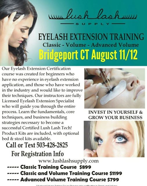 eyelash extension certification training in bridgeport ct at ...