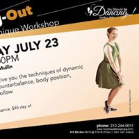 Swing- Out Technique Workshop with Rachel McMullin