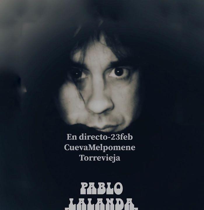 Pablo Lalanda en concierto