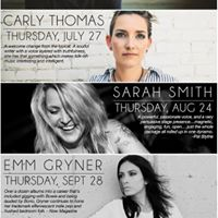 Streamliners Cafe Concert Series ft Carly Thomas