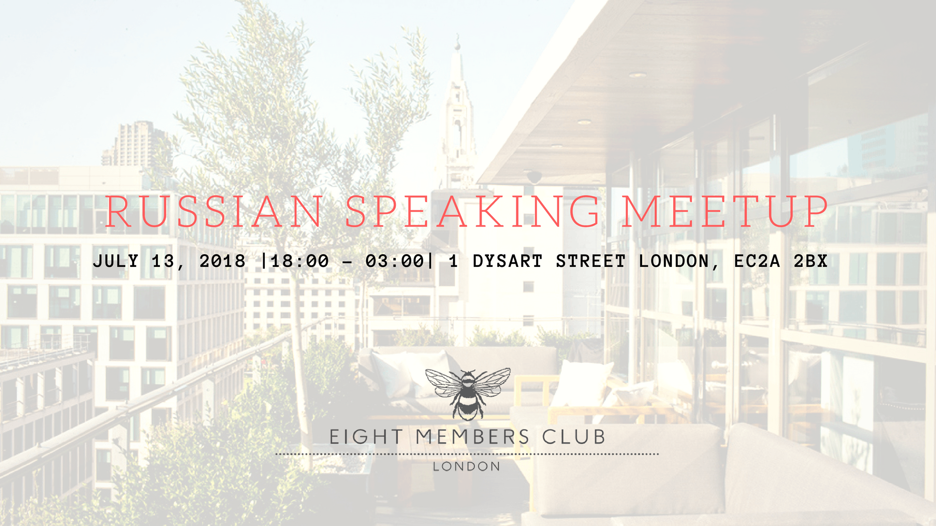 July Russian Speaking MeetUp
