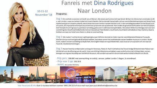 Fanreis met Dina Rodrigues