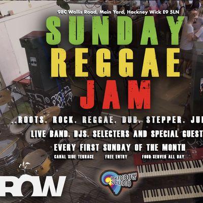 Sunday Reggae Jam  Live Music &amp DJs  GROW