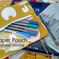 Zipper Pouch - Beginner