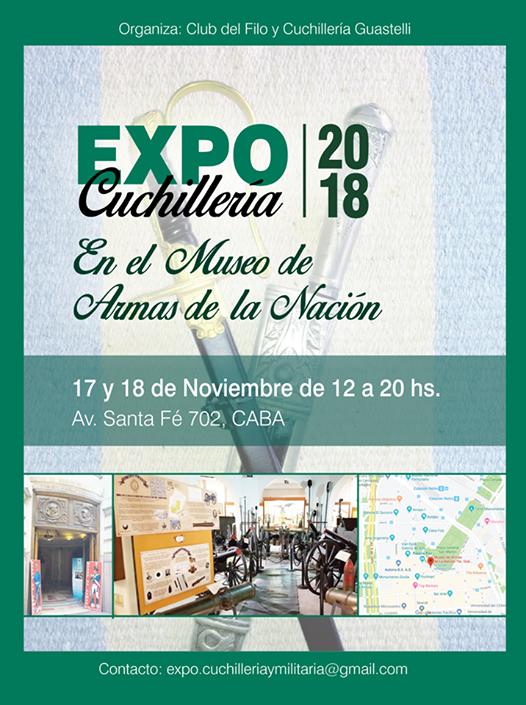 Expo Cuchilleria En El Museo De Armas De La Nacion