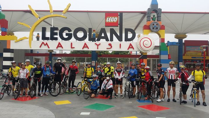 Legoland & the new Medini Bike Lanes