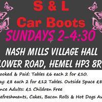 Car Boot Sale Hemel Hempstead