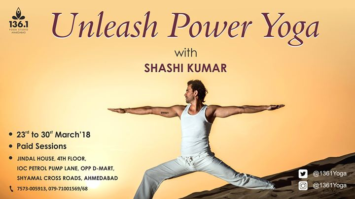 Unleash Power Yoga by Shashi Kumar