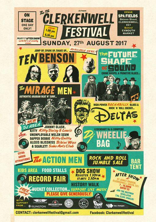 The Clerkenwell Festival 2017