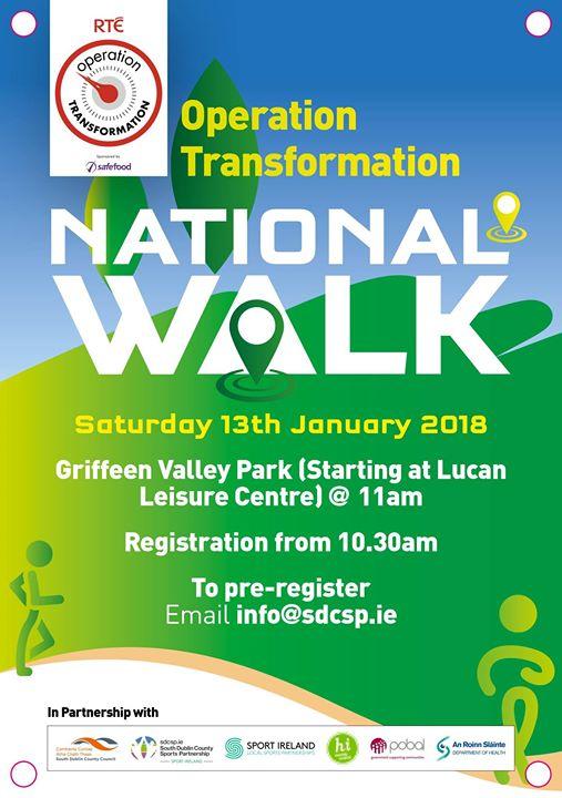 South Dublin Operation Transformation National Walk