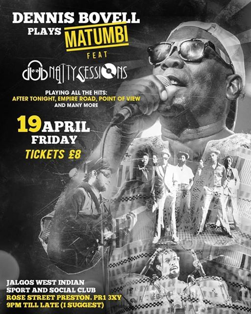 Matumbi With Dennis Bovell Featuring Dub Natty Sessions
