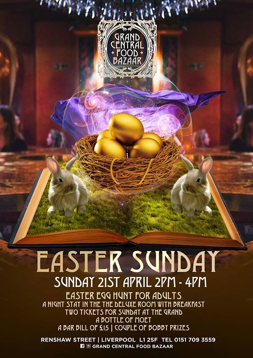 Easter Egg Hunt at Grand Central