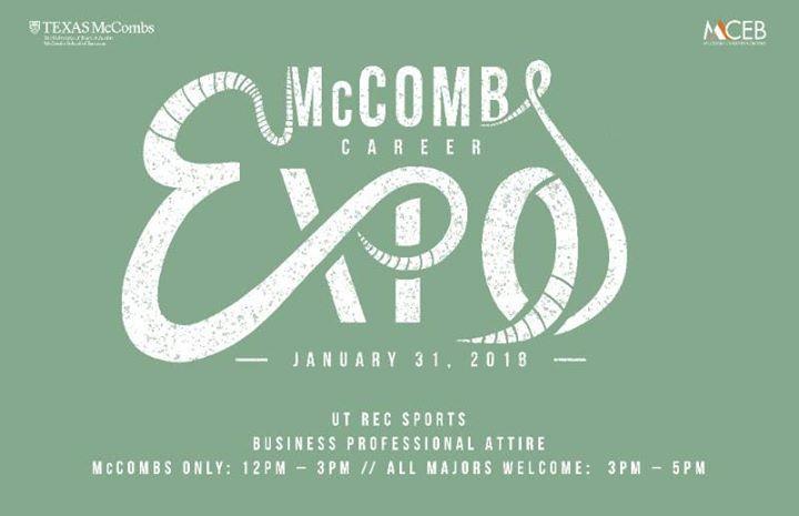 McCombs Career Expo at Recreational Sports Center, Austin