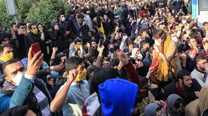 Stand in solidarity with anti-govt protesters in Iran