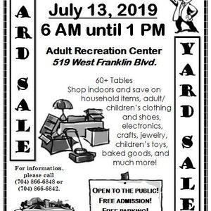 Adult Recreation Center- Yard Sale
