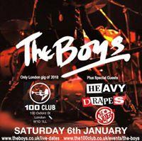 The BOYS Heavy Drapes The Vulz at 100 Club Resolution Festival